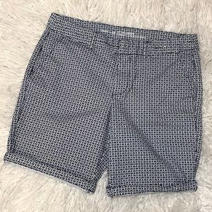 Gap Khaki City Bermuda 9in Shorts Patterned